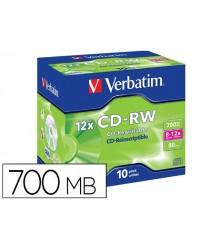 CD-RW VERBATIM SERL...