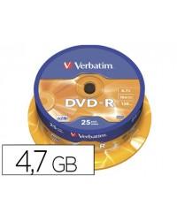 DVD-R VERBATIM CAPACIDAD...