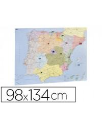 MAPA MURAL FAIBO ESPAÑA Y...