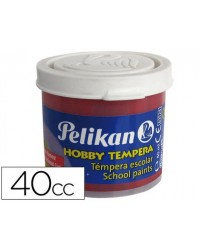 TEMPERA HOBBY 40 CC CARMIN...